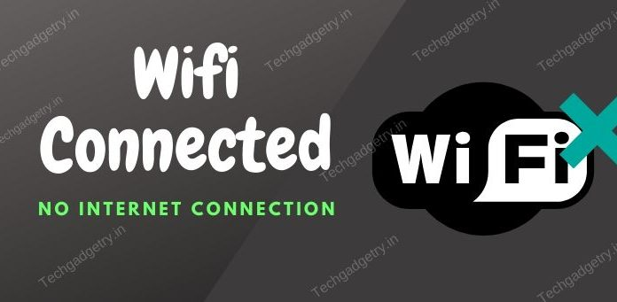 WIFI CONNECTED but NO INTERNET CONNECTION problem solved