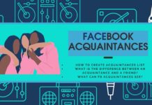 Facebook Acquaintances List Meaning