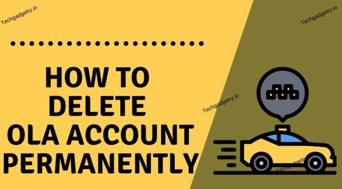 How to delete Ola account permanently