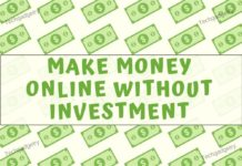 Make Money Online at home without investment