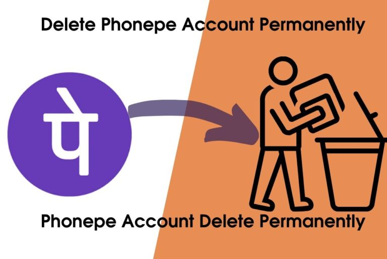 how to delete Phonepe account permanently