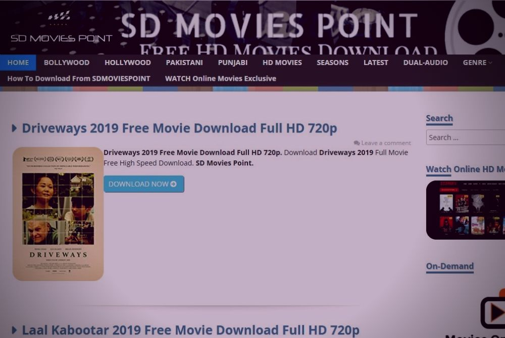 SDMoviespoint Bollywood Movies 2020