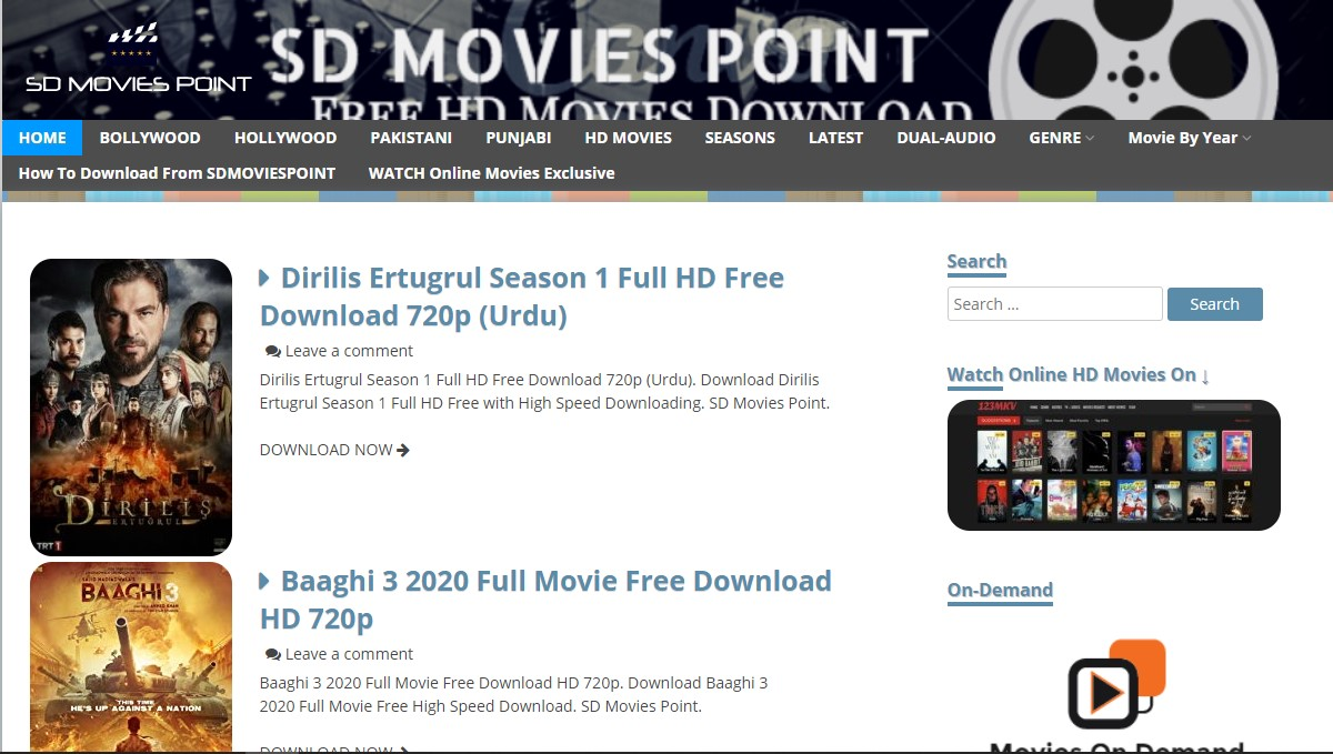 SDMoviespoint Bollywood Movies