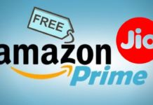 Free Amazon Prime Subsciption for jiofiber users