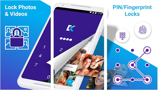 Keepsafe Photo Vault also an app lock alternative