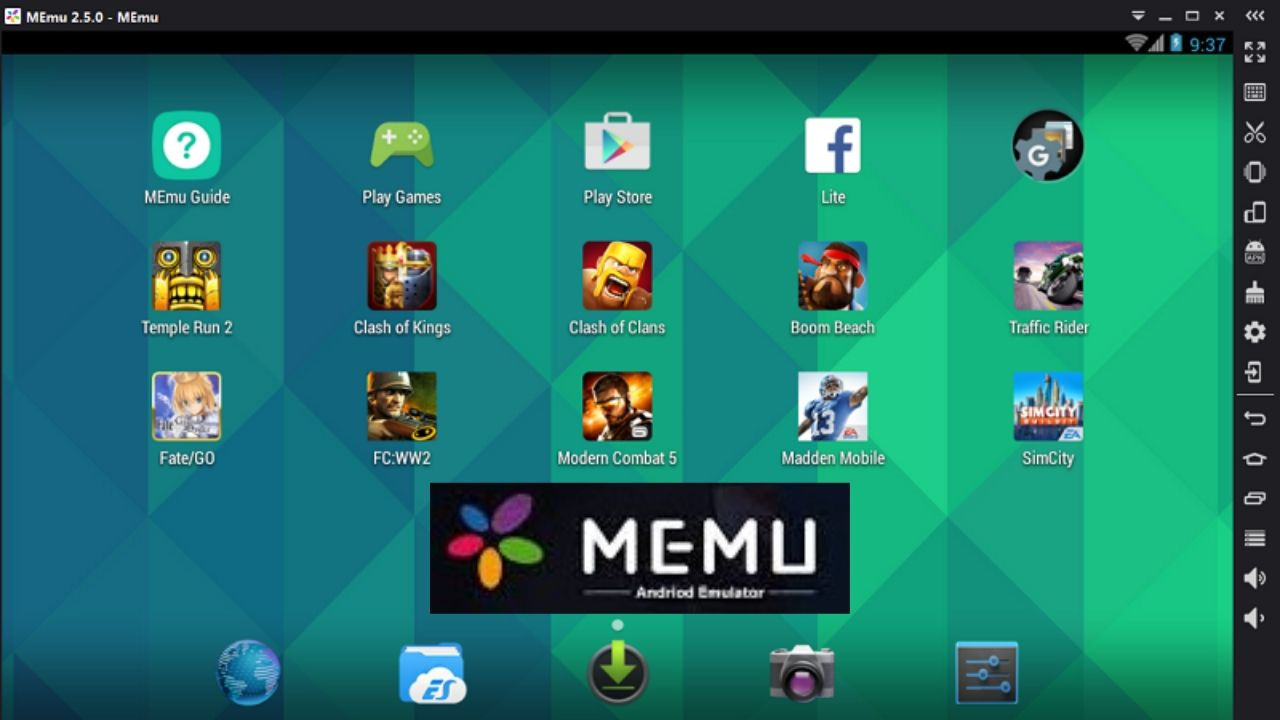 MEMU PLAY emulator for low end PC