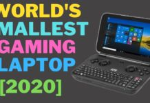 World smallest gaming laptop GPD win max