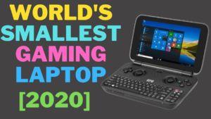 World smallest gaming laptop GPD win max