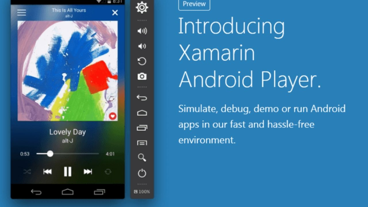 Xamarin Android emulator for mac