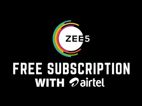 Airtel withdraws free zee5 subsciption on all prepaid plans