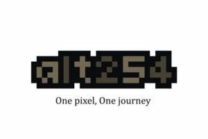 Alt254 one pixel one journey launch