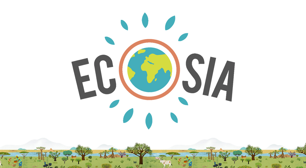 Ecosia plant trees on every search you made