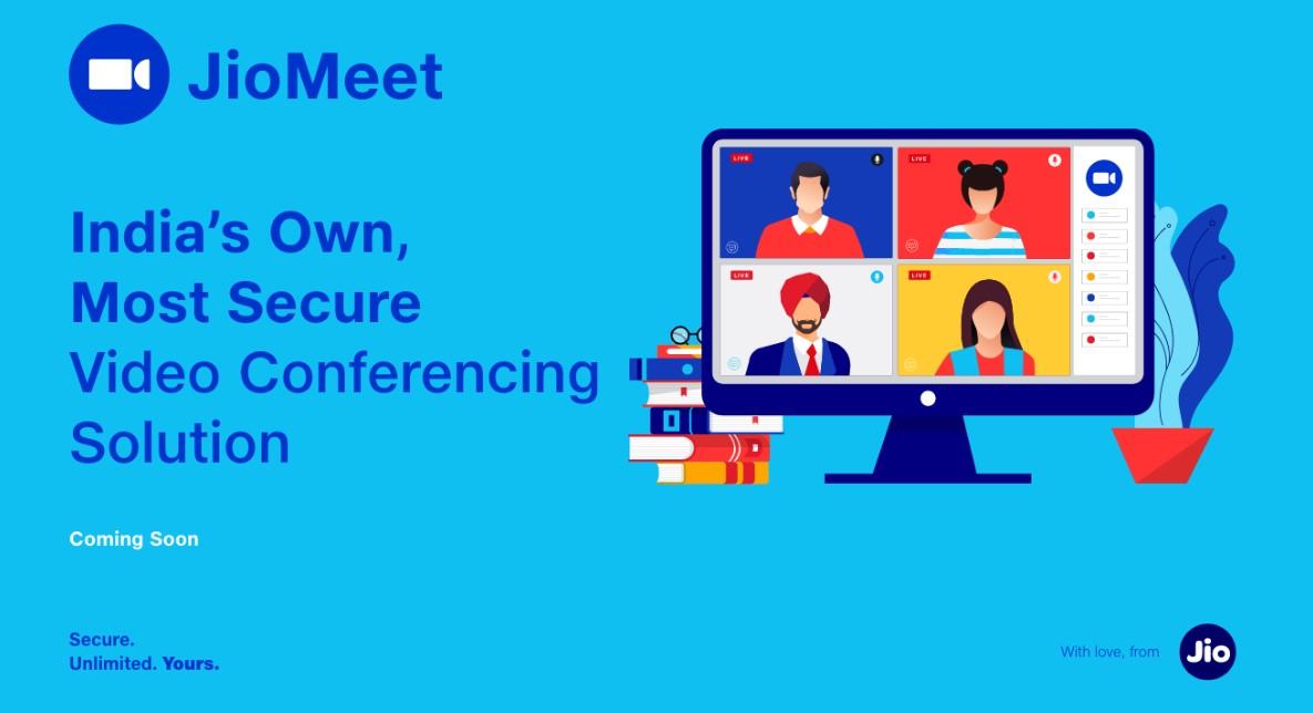 Jiomeet launch Indian online Meeting zoom