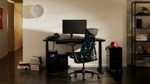 Logitech embody gaming chair launch