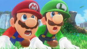Luigi found in super mario 64 code