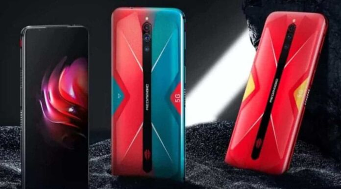 Nubia red magic 5s launch in China