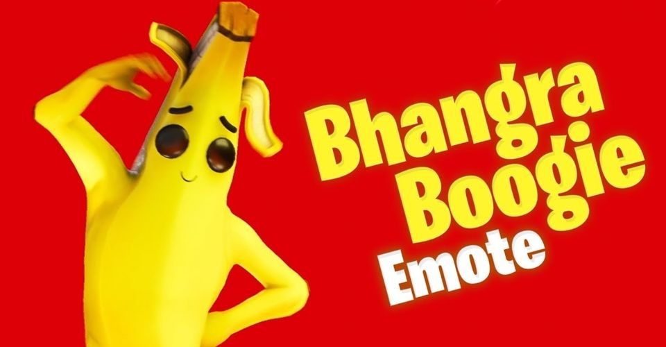 Oneplus bhangra boogie banana emote fortnite by Epic Games India