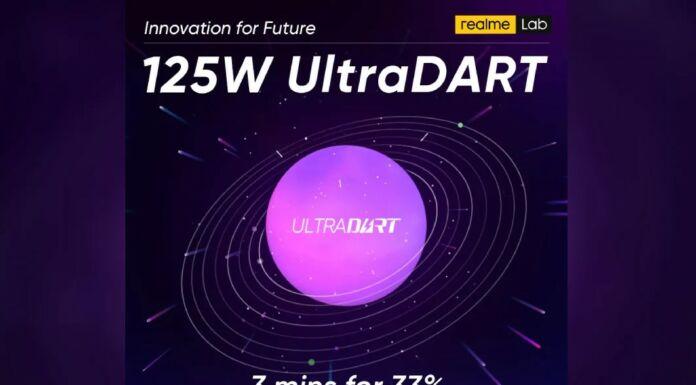 Realme 12W ultra dart charging