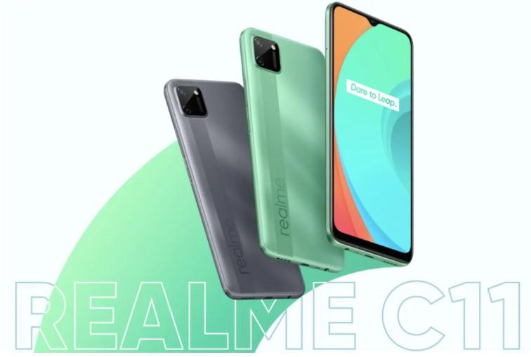 Realme C11 launch price in india