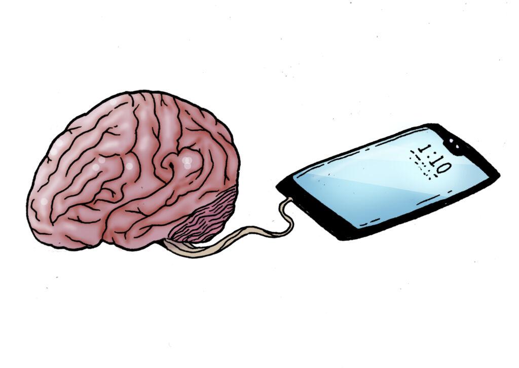 Mental health detection via smartphone app