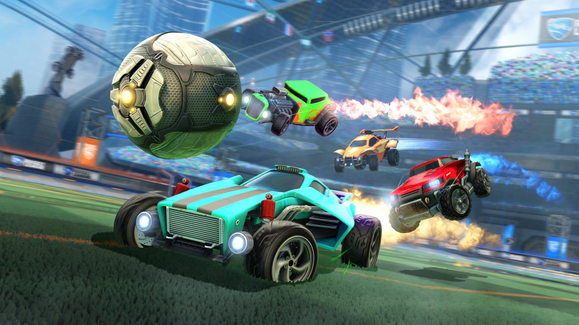 Rocket league free to play epic games ps4