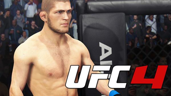 UFC 4 gameplay PS4