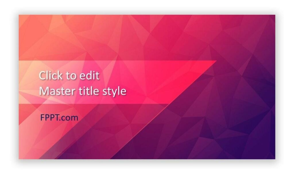 Free Amaranth Abstract PowerPoint template