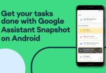 Google Assistant Snapshot feature voice command