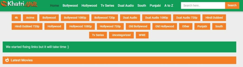 Khatrimaza movie categories A to Z
