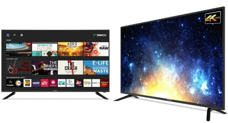Shinco launched new android tv in india with 4k