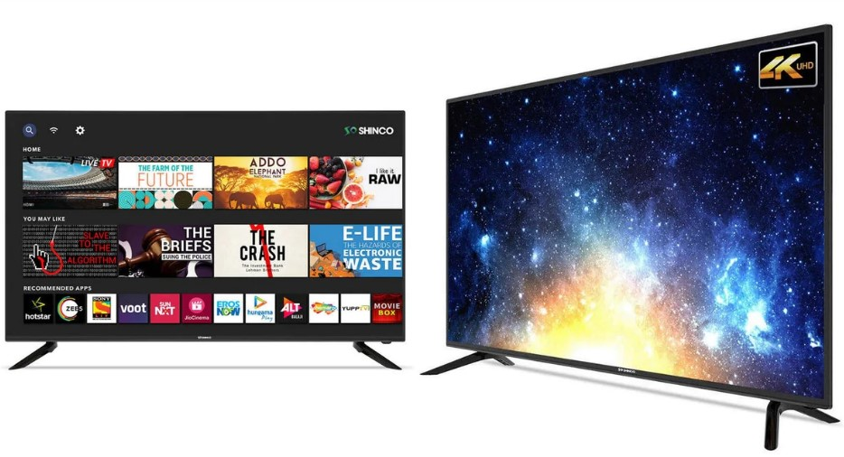 Shinco launches new Android Smart TVs in India with 4K Resolution