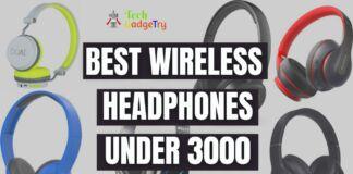 BEST WIRELESS HEADPHONES under 3000 in india