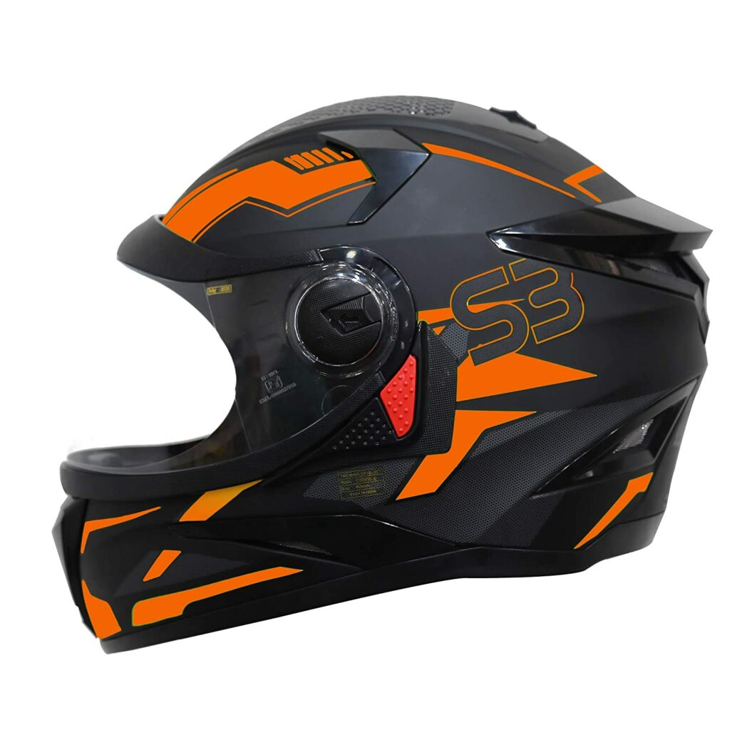 Steelbird SBH-17 Terminator Full Face Graphic Helmet