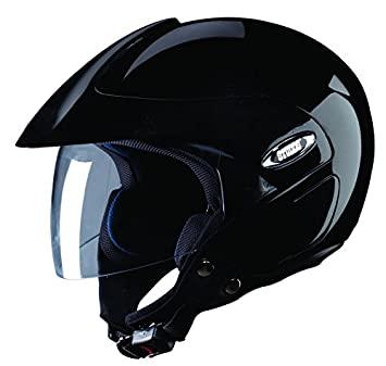 Studds Marshall SUS_MOFH_BLKL Open Face Helmet