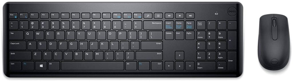 Dell Km117 Wireless Keyboard and mouse Combo