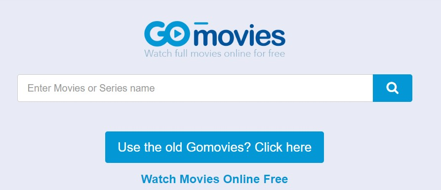 GoMovies movie download website