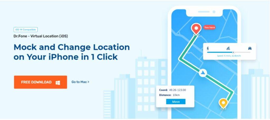 Dr.Fone - Virtual Location for iOS